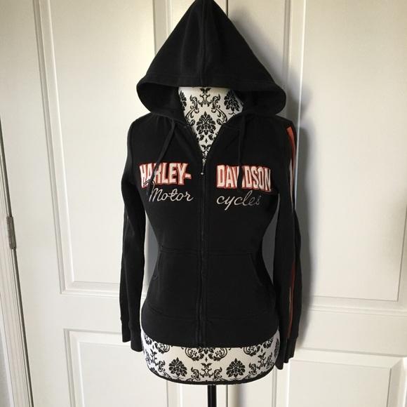Harley Davidson Sweaters Womens Harley Davidson Zip Up Sweatshirt